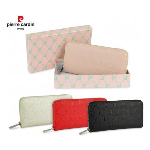 più economico 85aa5 eca8c Pierre Cardin 8822a Portafoglio Da Donna Chiusura A Cerniera Colori  Assortiti - Rosa Antico