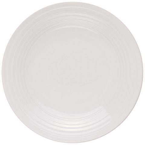 EXCELSA Piatto Fondo Bianco in Porcellana Ring 19,0 cm