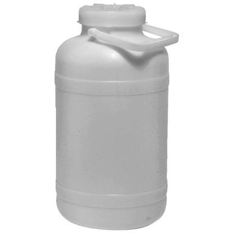 Contenitore per alimenti 25 Lt con manici e coperchio colore bianco 4 pezzi