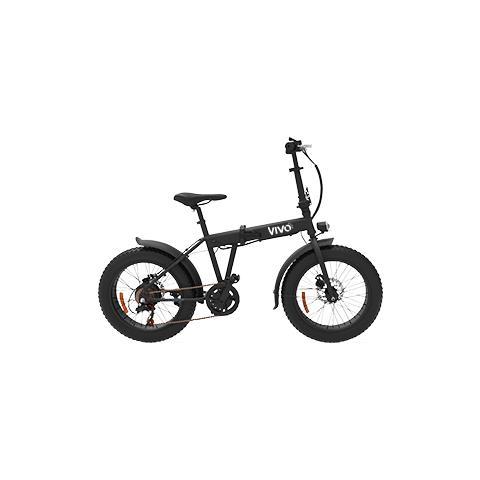 """Vivo Bike Bicicletta Fat Vivo VFA20F con Telaio in Acciaio e Ruote da 20"""""""