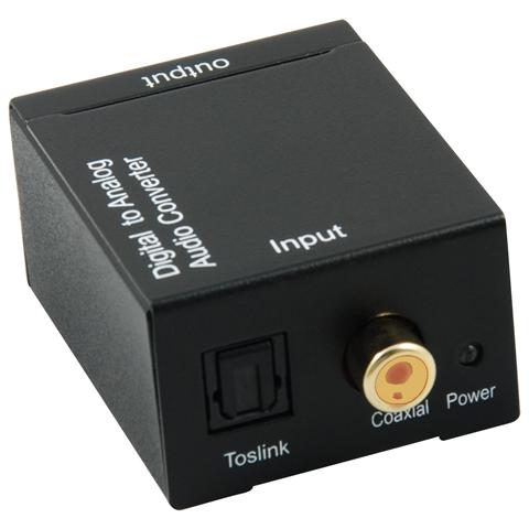 TECHLY IDATA SPDIF-3 - Convertitore Audio da digitale SPDIF ad analogico