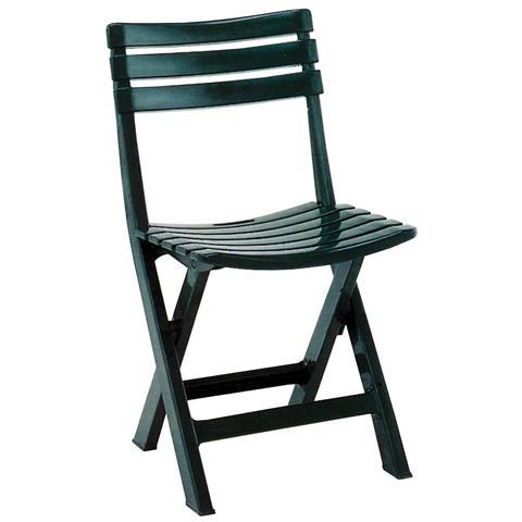 Sedia in Polipropilene Verde - Modello Birky