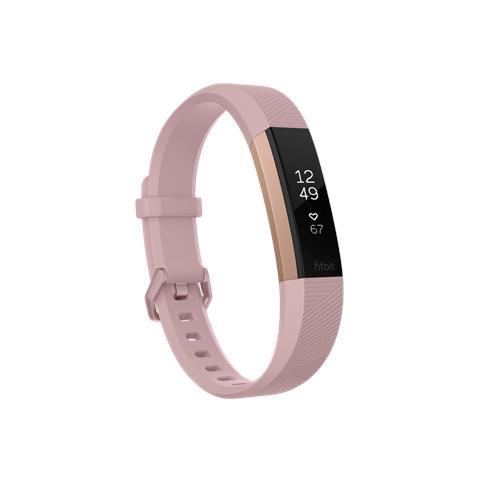 Fitbit Alta HR Oro / Rosal Taglia L - Braccialetto per Fitness corpo Oro