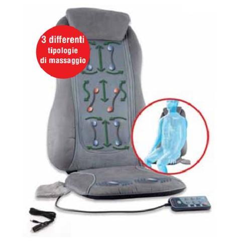 MACOM 843 Superior Sedile Massaggiante Shiatsu Colore Grigio