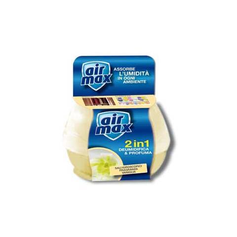AIR MAX pz. 1. Mangiaumidità deodorante40gr vaniglia D00124
