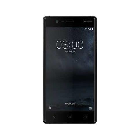"NOKIA N3 Nero 16 GB 4G / LTE Display 5"" HD Slot Micro SD Fotocamera 8 Mpx Android Europa"