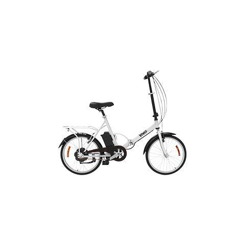 """Vivo Bike Bicicletta Fold Vivo VF20G Pieghevole 20"""" Telaio in Acciaio"""