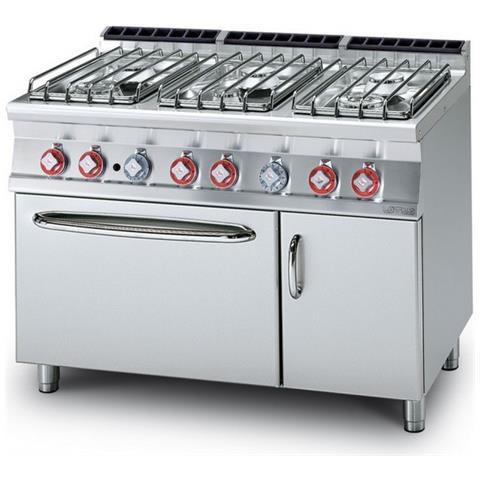 Cucina A Gas Professionale Afp / Cf6-712gpev