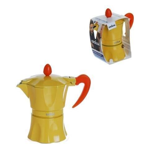 Caffettiera 1 Tazza - Modello Aroma Color Giallo