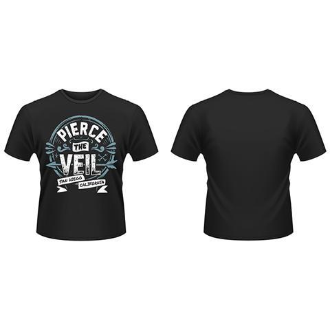 PHM Pierce The Veil - San Diego California (T-Shirt Unisex Tg. 2XL)