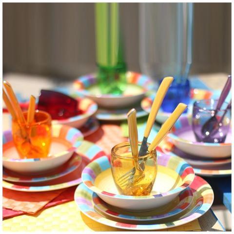 6 Bicchieri Acapulco Rainbow - Assortiti