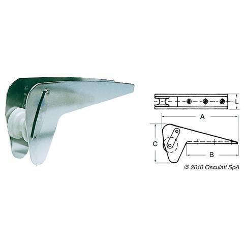 Musone speciale inox per Bruce / Trefoil max 10 kg