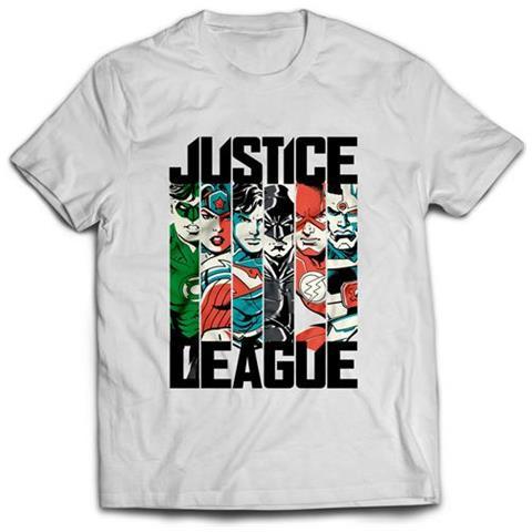 2BNERD Justice League Team (T-Shirt Unisex Tg. L)