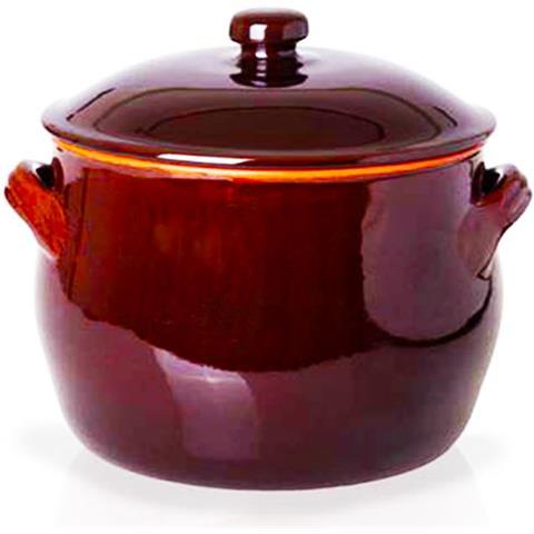 Ceramiche Benegiamo Benegiamo Pentola Lentia C / c Terracotta 24cm Art. 420