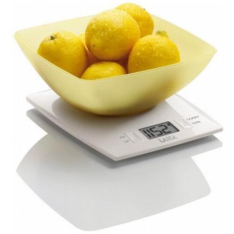 Bilancia Elettronica da Cucina Portata 3 kg Colore Giallo