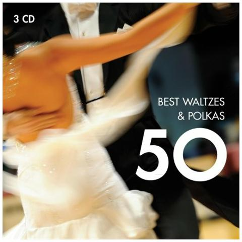 WARNER BROS Cd 50 Best Waltzes & Polkas