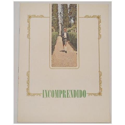 Vendilosubito Brochue In Spagnolo Originale Del Film Incompreso Del 1966 Raro