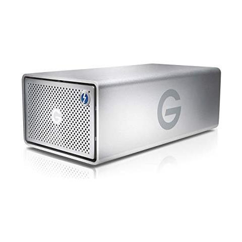 G-RAID Thunderbolt 3 20000GB Argento array di dischi