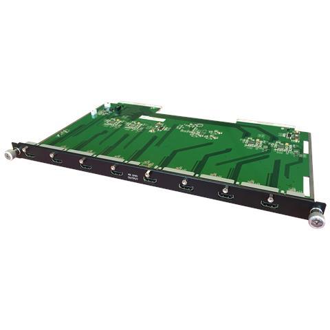 LINDY Matrice AV modulare: 8 uscite HDMI 4k UHD