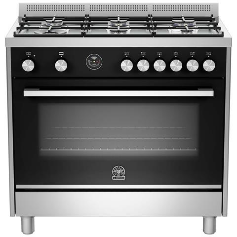 Bertazzoni la germania cucina a gas ftr905gevsxt serie futura 5 fuochi a gas forno a gas - Cucine bertazzoni la germania ...