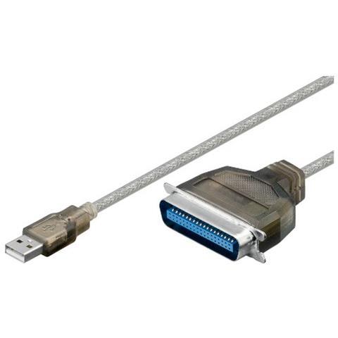 Goobay Wentronic USB / parallel converter USB A 36 pin centronics Nero cavo di interfaccia e adattatore