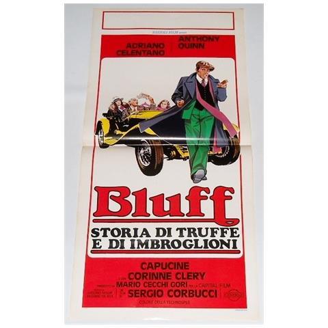 Vendilosubito Locandina Del Film Bluff Con Adriano Celentano 1976