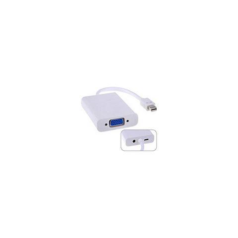 MICROCONNECT MDPVGAAUDIO, Mini DisplayPort, VGA (D-Sub) , Maschio, Femmina, Bianco