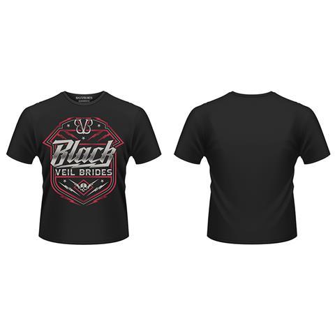 PLASTIC HEAD Black Veil Brides - Death Shield (T-Shirt Unisex Tg. XL)