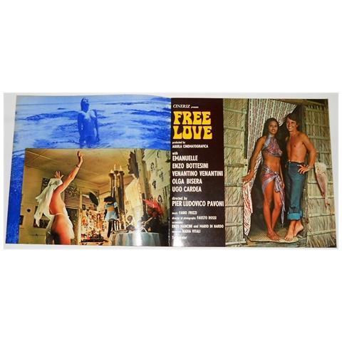 Vendilosubito Brochure Originale Del Film Amore Libero 1974