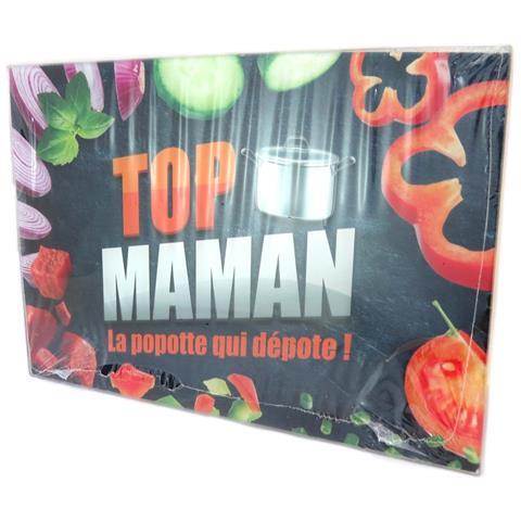 Tavola Da Taglio / Vetro Da Piatto 'maman' (casseruola) - 30x20 Cm - [ p2915]