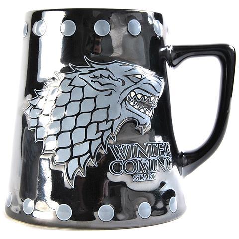 Game Of Thrones - Stark & Stud Relief (boccale Piccolo)