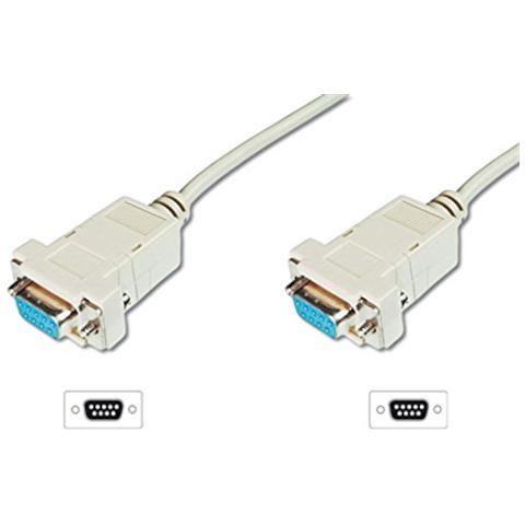 WENTRONIC CAK D-SUB 200 9F / 9F 2m 9-pin 9-pin cavo di interfaccia e adattatore