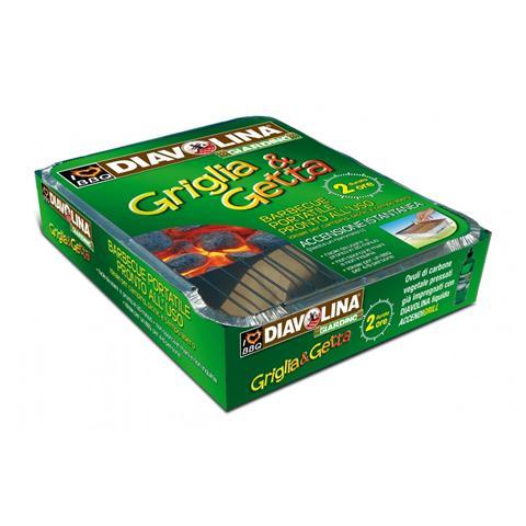 Griglia & Getta - Barbecue Portatile