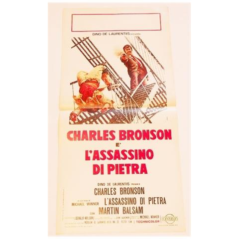 Vendilosubito Locandina Originale Del Film L' assassino Di Pietra Charles Bronson 1973