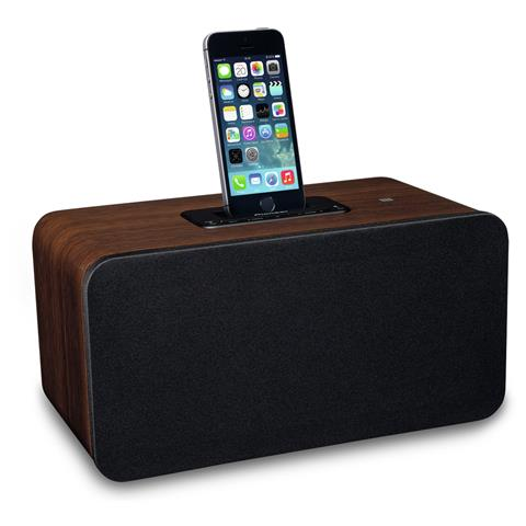 PIONEER XW-BTS7-T, 3,5 mm, iPhone 5, iPhone 5c, iPhone 5s, iPod Nano 7, iPod Touch 5, Nero, Legno, AC