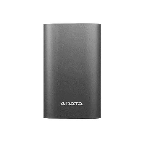 ADATA A10050QC, Grigio, Titanio, Universale, Ioni di Litio, USB, Micro-USB