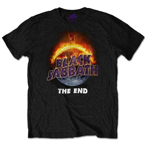 ROCK OFF Black Sabbath - The End (T-Shirt Unisex Tg. XL)