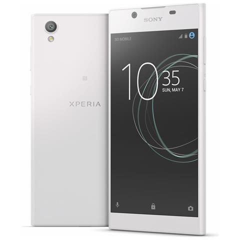 Xperia L1 Bianco 16 GB 4G / LTE Display 5.5'' HD Slot Micro SD Fotocamera 13Mpx Android -Tim Italia