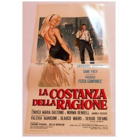 Vendilosubito Locandina Originale Del Film La Costanza Della Ragione 1964