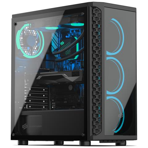 Image of PC Gaming con Watercooling, Intel i9, RTX 2070, 2Tb SSD NVMe 970 Evo, 3Tb HDD, 64Gb RAM, Win 10