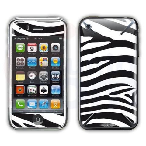 SMARTBUNNY Pellicola Protettiva Zebra Call iPhone 3/3GS