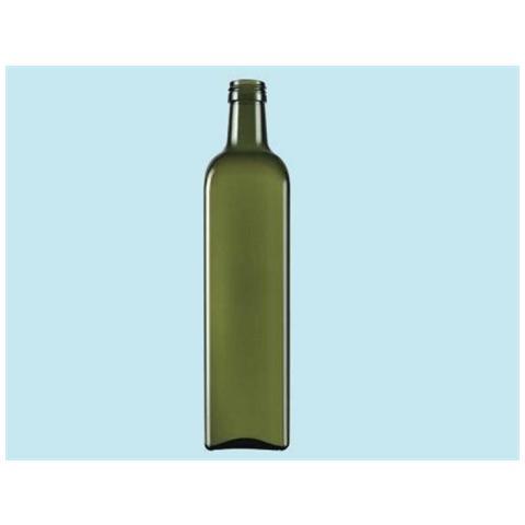 Bottiglia In Vetro Per Olio, Capacità 750 Ml, Senza Tappo