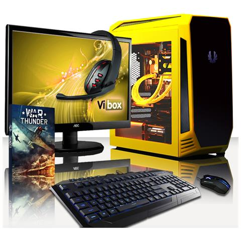 Image of Centre Pc 4.38 Gamer Pc - 4,2ghz Amd Quad-core Cpu, Gtx 1050, Desktop Gaming Pc Raffreddato A Liquido 22'' Hd Monitor, (fx Processore, Nvidia Geforce Gtx1050 Gpu, 8gb Memoria Ram, 1tb Hdd, Senza Windows Os)