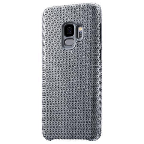 SAMSUNG Cover in Tessuto Hyperknit per Galaxy S9 colore Grigio