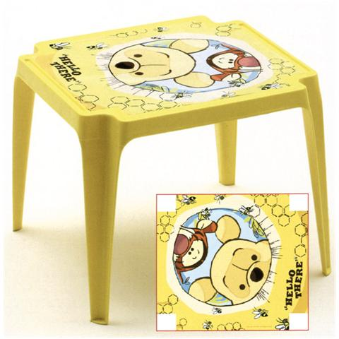 ipae-progarden Tavolo in Polipropilene Winnie The Pooh - Linea Baby Disney