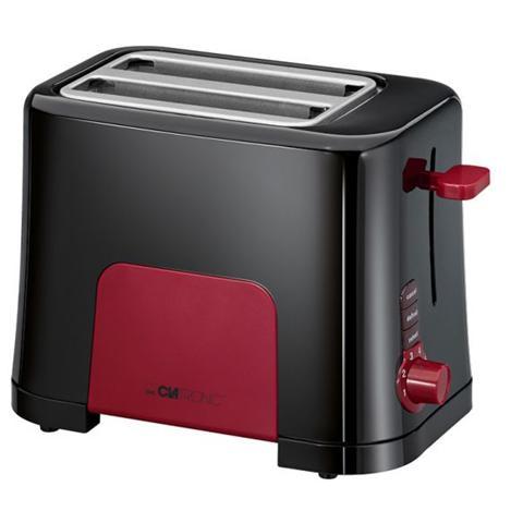 Image of TA 3551 Tostapane Potenza 700 Watt Colore Nero / Rosso