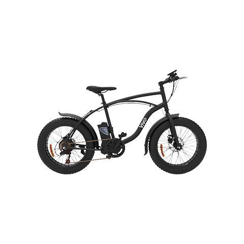 """Vivo Bike Bicicletta Fat Vivo VFA20 con Telaio in Acciaio e Ruote da 20"""""""