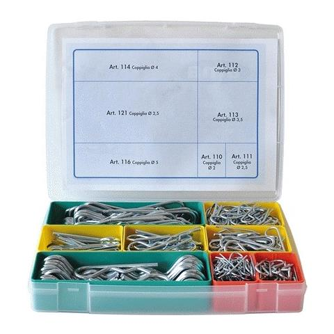 Image of Assortimento Coppiglie - Tot. 330 Pz