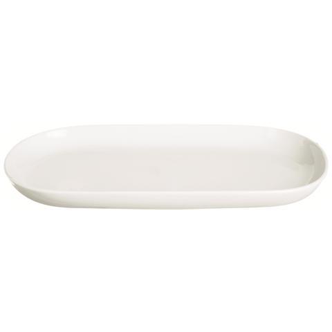 Piatto Ovale White Home Bianco 30,4 x 16,0 cm