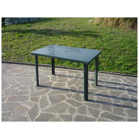 Tavolo Resina Art. 54c Cm. 120x70 Verde